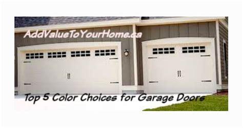 what color should i paint my garage door