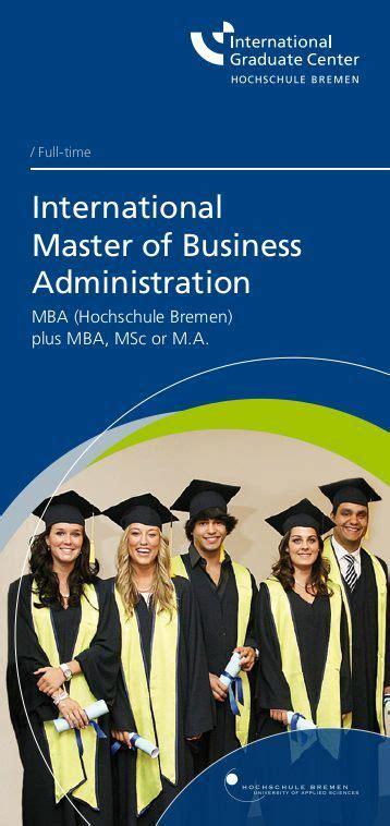International Business Mba by Foundation In Business Administration And