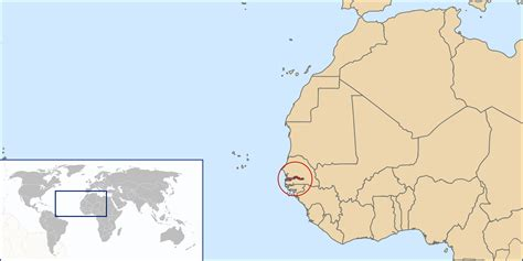 africa map gambia gambia location map location map of gambia vidiani