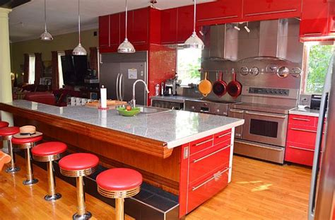 images red kitchen decor