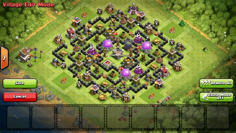 coc layout th8 anti loot clash of clans th8 farming base design guidescroll