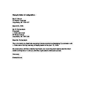 arts committee resignation letter resignation letter personal problem sle