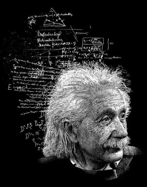 Albert Einstein 8x10 Fine Art Physics Print Physics Gift
