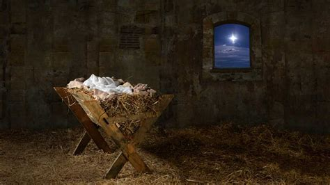 light style nativity scene the birth of jesus and a season of hope and light guideposts