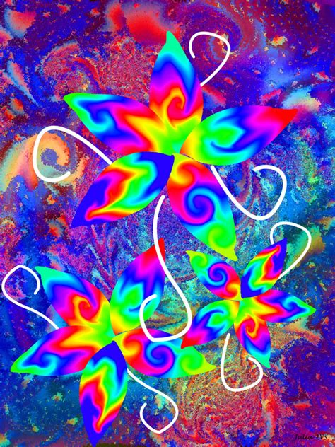 imagenes abstractas muy coloridas flores coloridas by julia evs on deviantart