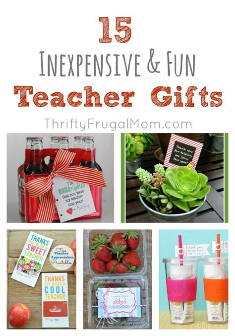 15 ideas for memorable inexpensive end of the year gift ideas for teachers its a wahm