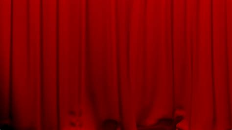 green screen curtain curtains opening and closing stage theater cinema red