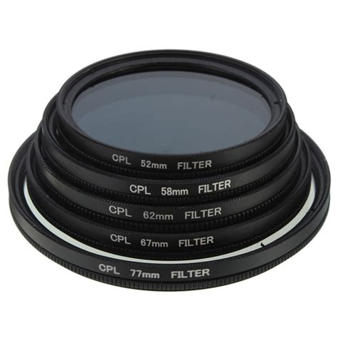 prise cpl 96 sale slim cpl circular polarizing polarizer lens