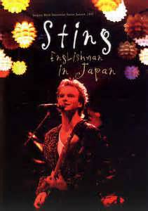 dvd format in japan sting englishman in japan dvd at discogs