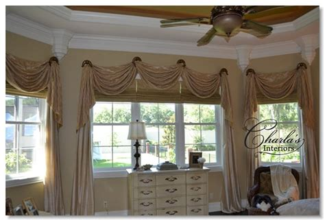 Handmade Window Treatments - window treatments curtain dining room window