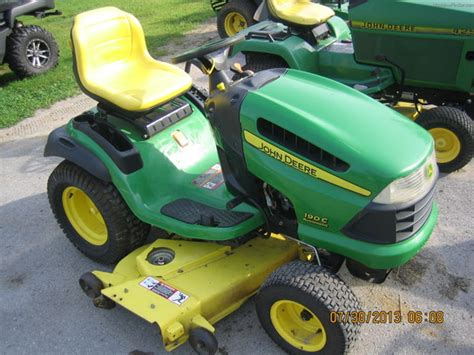 Mcminnville Lawn And Garden by 2005 Deere 190c Lawn Garden And Commercial Mowing