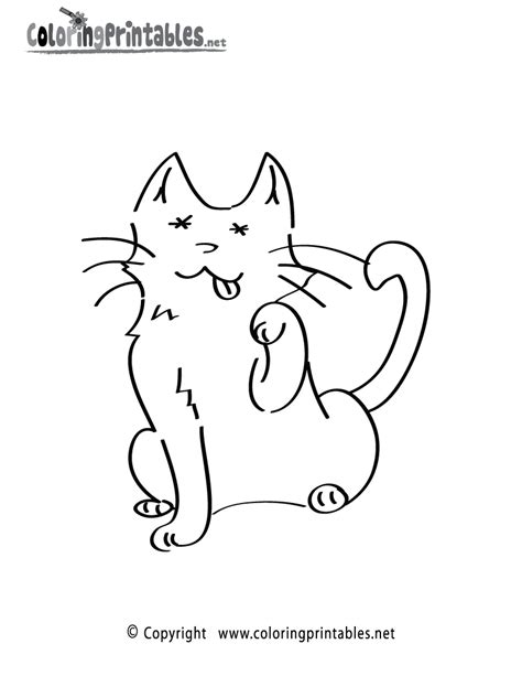 cat calendar coloring pictures to print calendar