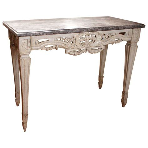 painted sofa table french 18th century painted console table at 1stdibs