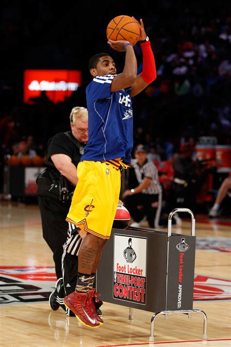 Kyrie 3 Three Point Contest foot locker three point contest 2013 zimbio
