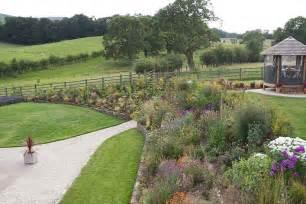 garden designs for large gardens scalebor park farm garden design ideas sloping garden