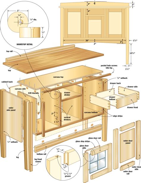 woodworking projects  plans  diy