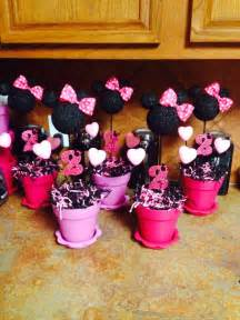 minnie mouse table decorations scarlets 3rd birthday