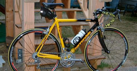 cannondale bike seattle s rebuilds 1998 cannondale road bike team saeco edition
