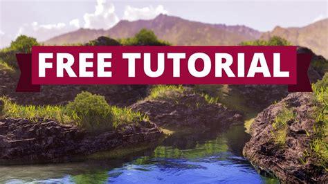 tutorial blender landscape blender tutorial landscape youtube