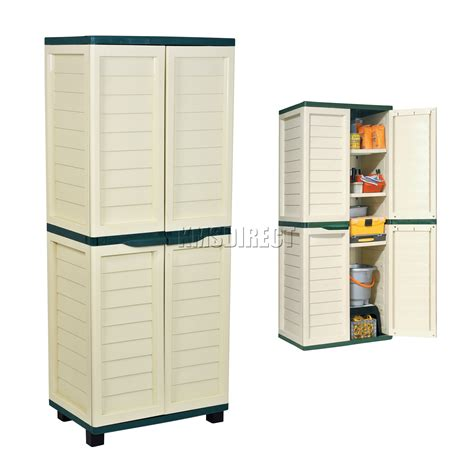 outdoor resin storage cabinets starplast outdoor plastic garden utility with 4