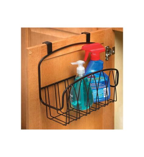 Cabinet Door Storage Basket Twist The Cabinet Basket In Cabinet Door Organizers