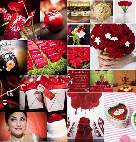 theme mariage rose et argent deco mariage rouge mariage blanc bordeaux rose