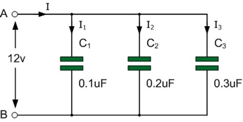 capacitor in parallel series capacitors in parallel and parallel capacitor circuits