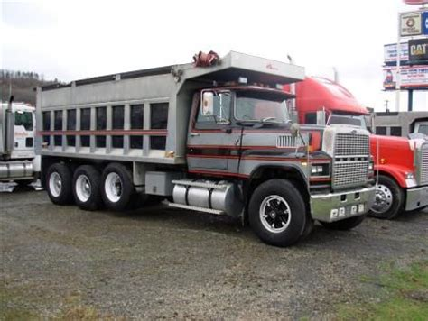 ford ltl 9000 dump truck trucks for sale and used ford on pinterest
