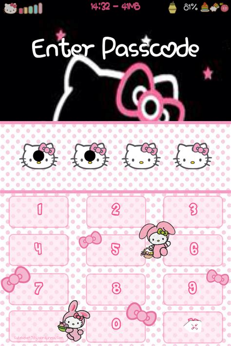 themes go keyboard hello kitty hello kitty easter bunny keyboard theme cute bebe kitty