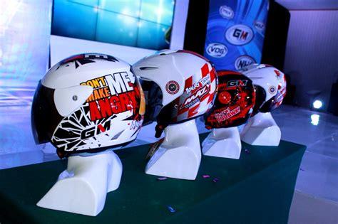 helm gm untuk anak dan wanita gilamotor