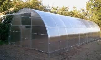 serre tunnel de jardinage potager en polycarbonate 3x4