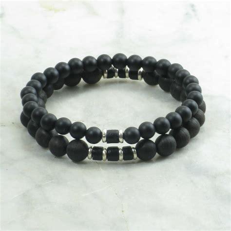 Zen Bracelets for Men   agarwood mala beads, mala bracelets