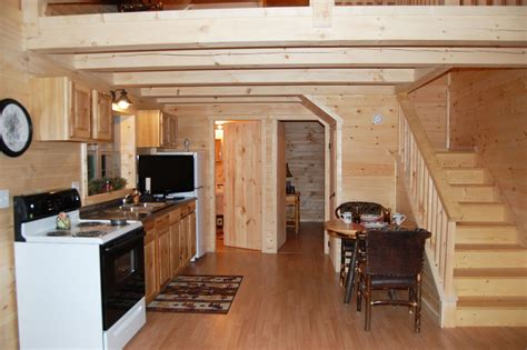 Pics Inside 14x30 House by Getaway Cabins Pine Creek Structures