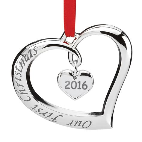our first christmas forevermore ornament 2016 lenox