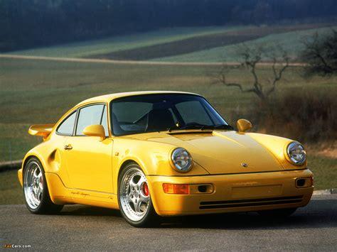 yellow porsche twilight photos of porsche 911 turbo s 3 3 leichtbau 964 1992 93