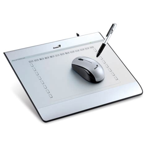 Mouse Pen Genius I608x genius 6 x8 graphic tablet with co end 5 14 2016 12 00 am