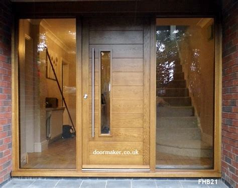 contemporary front entrance doors contemporary front doors oak iroko and other woods