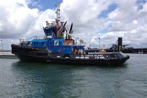 boat us radio check one of the five new tug boats built to escort lng ships