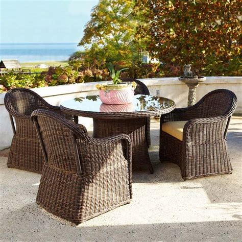 All Weather Wicker Patio Dining Sets Marvelous All Weather Wicker Dining Set 5 All Weather Wicker Patio Dining Set Bloggerluv