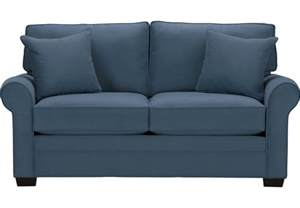 Loveseat Sleeper Sofa Home Bellingham Indigo Sleeper Loveseat Sleeper Loveseats Blue
