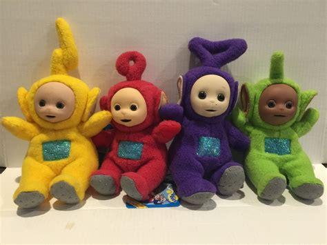 ebay toys teletubbies laa po tinky dipsy plush toy doll set 4pc
