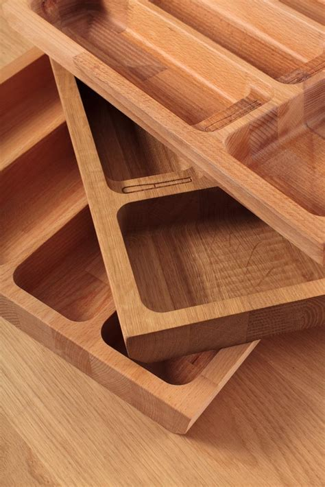 Wooden Cutlery Drawer Inserts by Oak Solid Wood Cutlery Drawer Inserts Worktop Express