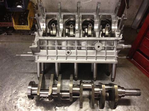 Lamborghini Engine Rebuild Lamborghini Urraco Engine Rebuild Pistons In Block Urraco