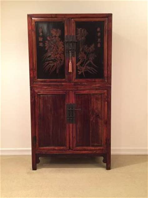 asian armoire antique asian armoire cabinet