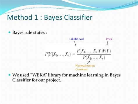 pattern recognition bayes rule tweets classification using naive bayes and svm