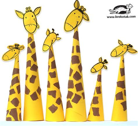 How To Make Paper Giraffe - 130 best paper craft images on