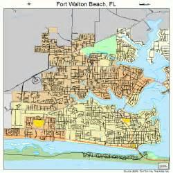 map of fort florida fort walton florida map 1224475