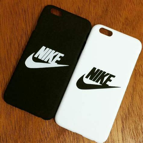 Iphone 6 6s Nike Logo Hardcase instocks nike iphone 6 6s 6plus 6s plus matte black white cover electronics on