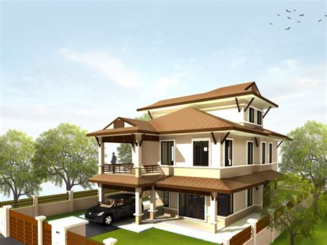 pleasant and modern bungalow house modern house plan