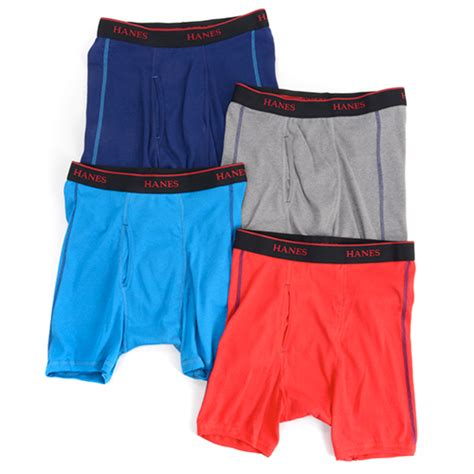 The Ultimate Boxer Shorts For Your by Hanes Ultimate 174 4pk Sport Boxer Briefs Boscov S